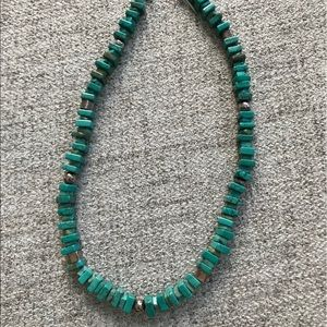 Jewelry - Turquoise and sterling silver necklace